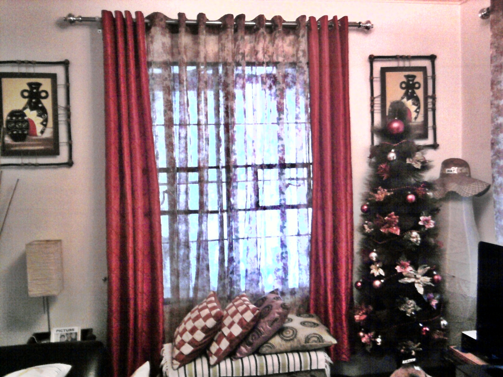 livingroom for how stockings curtains your to room interiordesign living decorate christmas this